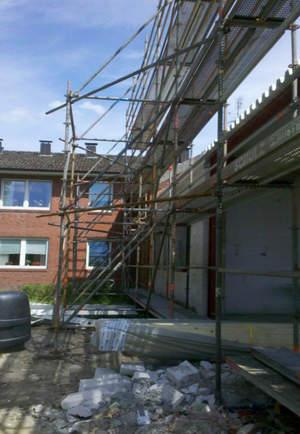 Schulz Gerüstbau Bild2 Fassadengerüst in Krempe