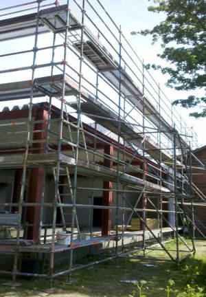 Schulz Gerüstbau Bild3 Fassadengerüst in Krempe