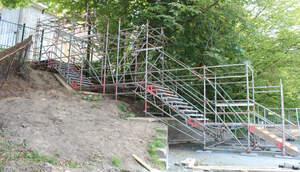 Schulz Gerüstbau Bild Treppenturm1