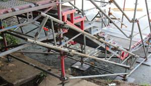 Schulz Gerüstbau Bild Treppenturm2