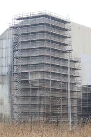 Treppenturm Yara Schulz Gerüstbau